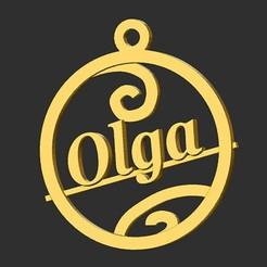 Olga.jpg Download STL file Olga • 3D printing design, merry3d