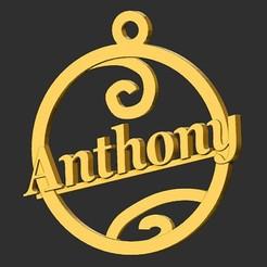 Anthony.jpg Télécharger fichier STL Anthony • Modèle pour imprimante 3D, merry3d