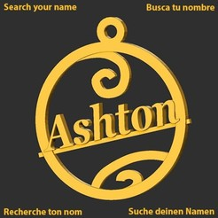 Ashton.jpg Download STL file Ashton • 3D printer model, merry3d