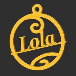 Lola.jpg Download STL file Lola • 3D printing template, merry3d