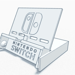 Nintendo_Switch_Stand1.png Download free STL file Nintendo Switch Stand • 3D printing design, ckw8217
