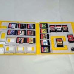 P_20200307_010935.jpg Télécharger fichier STL gratuit Stocker les jeux Nintendo Switch dans des boîtiers de jeu 3DS (JAP) • Plan imprimable en 3D, ckw8217