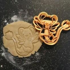 kero.jpeg Download STL file kero sakura card punch hunter • 3D printing model, Fraise-18