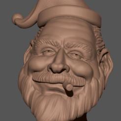 2020-11-15_00h00_32.png Télécharger fichier OBJ Le Père Noël glacial • Design à imprimer en 3D, GabrielMartins