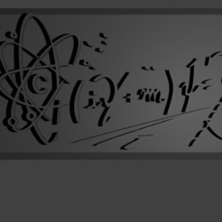 Dirac0.jpg Download free STL file Dirac equation • 3D print design, Faustisimo
