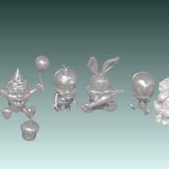 toones.jpg Télécharger fichier STL Baby Looney Tunes • Modèle à imprimer en 3D, MEDUSA3D