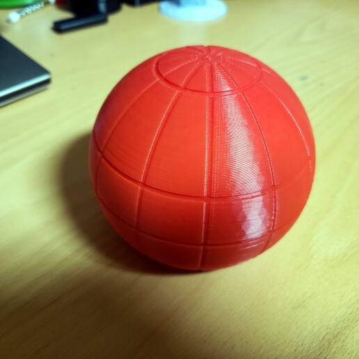 20210102_131402BSmall.jpg Download free STL file Marble or Dice Storage Globe • 3D print object, bneedhamia
