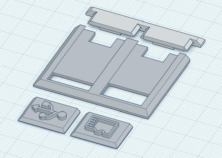 tapa usb artillery.jpg Download free STL file USB Cover Artillery Sidewinder X1, Genius • 3D print object, 3dmini3d