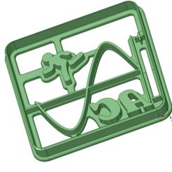 AC.png Télécharger fichier STL AC COOKIE CUTTER • Design pour imprimante 3D, c3dstore