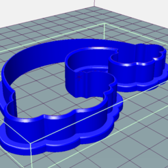 rainbow_9cm_per.png Download STL file rainbow cookie cutter • 3D print object, c3dstore