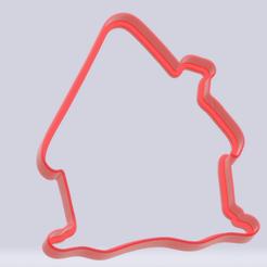 Gingerbread house.png Télécharger fichier STL Biscuit maison en pain d'épices • Modèle pour impression 3D, c3dstore