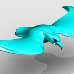 eagle.png Télécharger fichier STL gratuit eagle • Objet imprimable en 3D, PaulvanDoorenmalen
