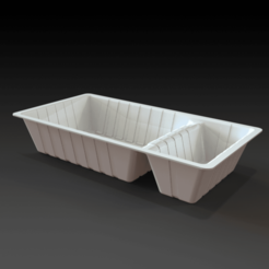 netflix and chill snack dishjpg.fw.png Download STL file Netflix and Chill Snack dish • 3D printing object, PaulvanDoorenmalen