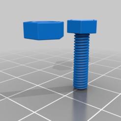 b000311f27a282b80d5a8429ec0f9553.png Download free STL file M4x15mm • Design to 3D print, PaulvanDoorenmalen
