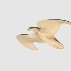 bird.png Télécharger fichier STL gratuit vogel • Objet pour imprimante 3D, PaulvanDoorenmalen