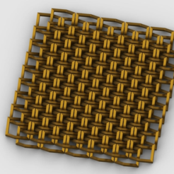 render_satin_gold.png Download free STL file Chainlink • 3D printable template, PaulvanDoorenmalen