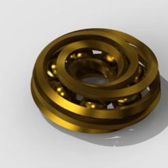 spiraltoy1-1.png Download free STL file Spiral donut toy 1 • 3D printer design, PaulvanDoorenmalen