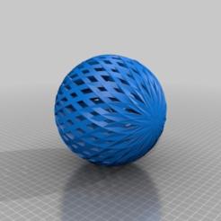 geometric1.png Télécharger fichier STL gratuit orbe géométrique • Objet pour imprimante 3D, PaulvanDoorenmalen