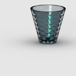 glass1.png Download free STL file Drinking glass • 3D printing template, PaulvanDoorenmalen