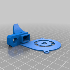 fan_duct_without_support_.png Download free STL file fun duct with protection and sensor bracket • 3D printing object, Arcade_Machine