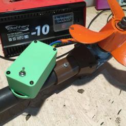 photo.png Télécharger fichier STL gratuit Boîtier étanche pour le contrôle du moteur du kayak / Caja estanca para mando motor Kayak • Plan à imprimer en 3D, SongoLand