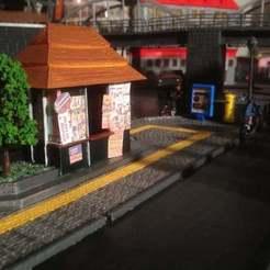 IMG_2578.JPG Télécharger fichier STL gratuit Le kiosque !  - Le kiosque ! • Modèle à imprimer en 3D, SongoLand