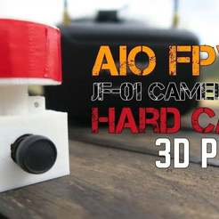 3dprint_hard_case_for_fpv_AIO_cam_songoland_youtube_portada.jpg Download free STL file Hard Case for AIO FPV Cam JF-01 - Extra Protection for the Antenna • 3D printing design, SongoLand