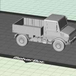 Captura_de_pantalla_2015-11-01_a_las_18.34.14.png Download free STL file NIce Unimog 1300 L -  PickUp Truck • Model to 3D print, SongoLand