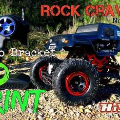 new_thinkgiverse_hsp_servo_mount.jpg Download free STL file HSP Kulak 94680T2 3D Print Servo MOD Mini rock crawler 1:18 • 3D printing design, SongoLand