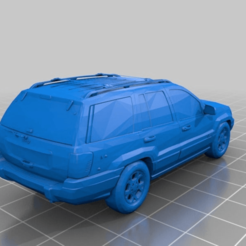 grandcherokee2000.png Download free STL file Grand Cherokee Jeep - 2000 • 3D printable template, SongoLand