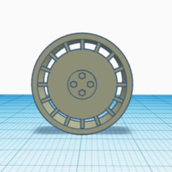 Vin Wheel pic 1.png Download STL file Vintage Style Wheels • 3D printing design, 43Blockz