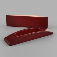 coverHandle_Final_angle.jpg Download free STL file Acrylic Cover Handles • Design to 3D print, Squeemeister