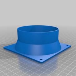 square_fan_to-pipe_adapter_v2_20200629-60-4igvll.png Télécharger fichier STL gratuit Ventilateur de 120 mm à conduit de 100 mm • Design imprimable en 3D, trimtas
