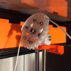 Filament Guide(1).jpg Download STL file Filament Guide for Prusa i3 MK3S • 3D printing model, MaquinaES
