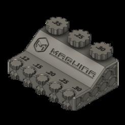 Tabletop Tolerance Gear.png Download free STL file Tabletop Tolerance Gauge • 3D print design, MaquinaES