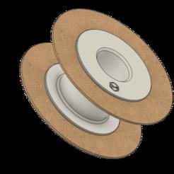 Reusable Spool Holder.png Télécharger fichier STL Bobine de filament réutilisable • Design pour impression 3D, MaquinaES