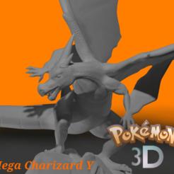 image 4.png Download STL file Mega charizard y • 3D print object, junejaspe