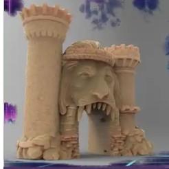 Castle.jpg Télécharger fichier STL MODÈLES RPG 15+ Comprend une licence commerciale complète • Objet pour impression 3D, TFG