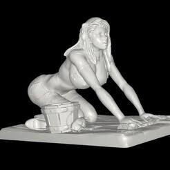 Sindirella NSFW.jpg Download STL file FABLES Sindirella with Commercial Option • 3D print design, TFG