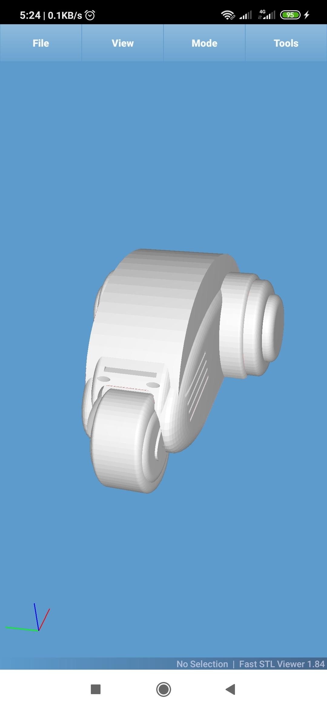 Screenshot_2020-12-13-05-24-34-512_com.performance.meshview.jpg Download STL file Serpent Big Boss with Commercial Option. • 3D printer model, TFG