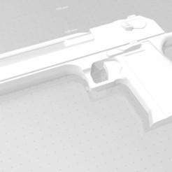 Desert Eagle 50AE - 1.jpg Télécharger fichier STL Desert Eagle 50AE (pas de version ferroviaire) • Modèle imprimable en 3D, rjoinnovativecrafts