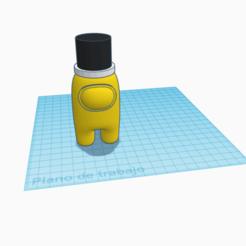 Among us mago.png Download free STL file Among Us Figura Mago • 3D printable design, cuentaimprecion3d