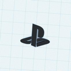 PS4.png Download free STL file PS4 Logo Simbolo • 3D print design, cuentaimprecion3d