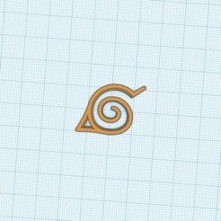 Aldea de la hoja.png Télécharger fichier STL gratuit Naruto Aldea De La Hoja Simbolo • Objet pour imprimante 3D, cuentaimprecion3d