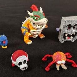 Painting2Smaller.jpg Télécharger fichier STL gratuit Collection Mario 64 • Objet imprimable en 3D, MintyFries