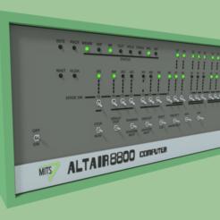 MITSAltair8800.png Télécharger fichier STL gratuit MITS Altair 8800 • Plan imprimable en 3D, MintyFries