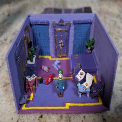 lman.png Download free STL file Luigi's Mansion 3 Teaser Trailer Model • 3D printable design, MintyFries