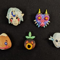PXL_20201115_195152006.jpg Download free STL file Majora's Mask Collection • 3D printing template, MintyFries