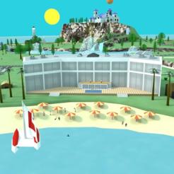 Thingiverse5.png Télécharger fichier STL gratuit Pilotwings 64 : Holiday Island • Plan pour imprimante 3D, MintyFries