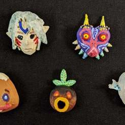 PXL_20201115_195152006Smaller.jpg Download free STL file Majora's Mask Collection • 3D printing template, MintyFries